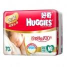 HUGGIES好奇 金装超柔贴身透气纸尿裤NB70片(0-5kg)
