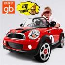 好孩子 儿童四轮电动车W446Q-B宝马遥控玩具汽车minicooper童车