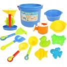 大贸商 沙滩筒玩具13件套 玩沙戏水 挖沙 AF00681